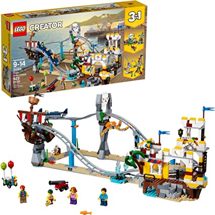 NEW 923 Piece LEGO Creator 3 in 1 Pirate Roller Coaster 31084 Building Kit