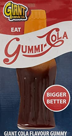 Giant Candy Gummy Cola Bottle Sweet 800 Grams