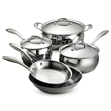 Tramontina 80102/200DS Domus 8pc Cookware Set, 8 Piece