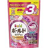 洗濯洗剤 ジェルボール3D 柔軟剤入り ボールド 癒しのプレミアムブロッサム 詰め替え 52個(約3倍)