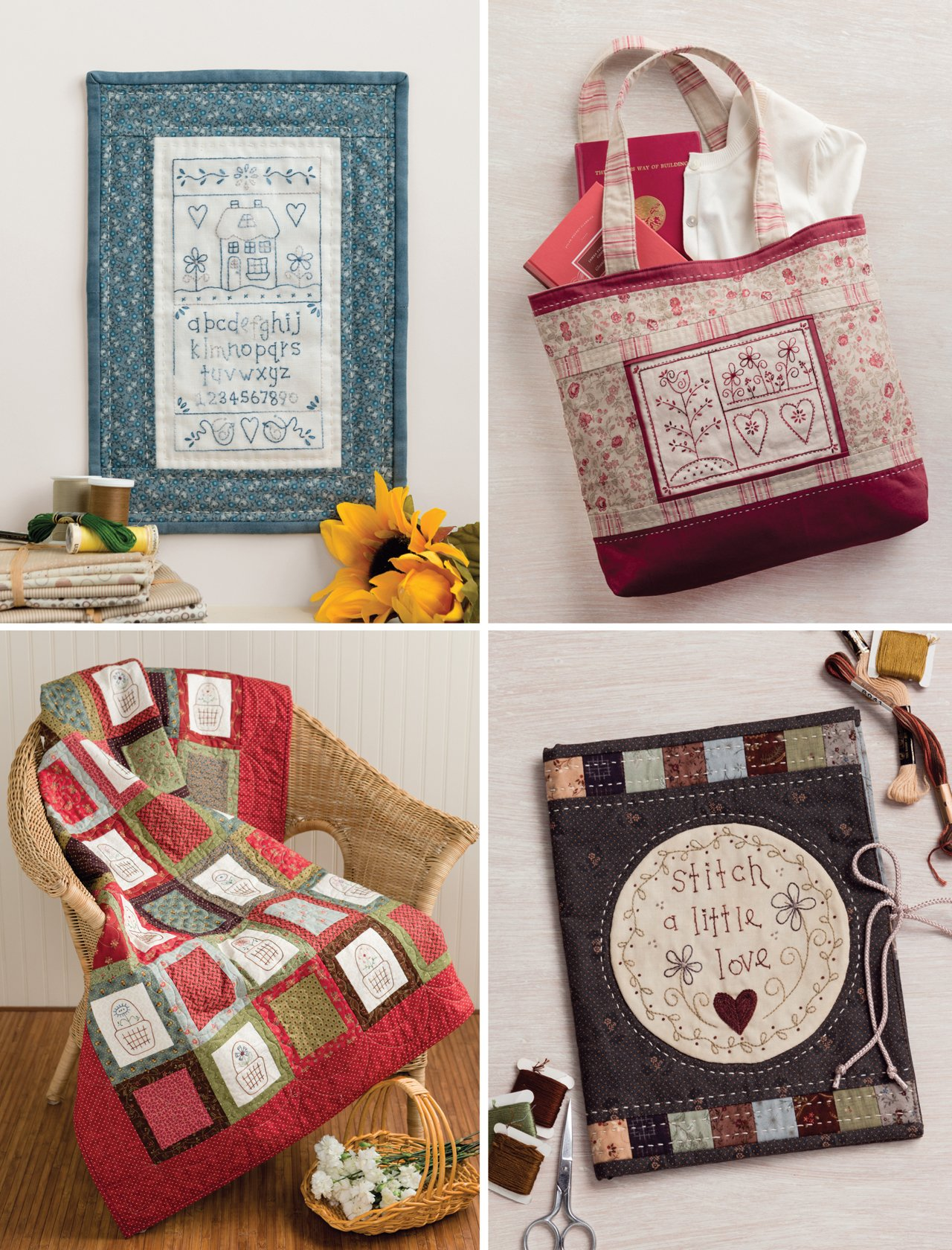 Patchwork Loves Embroidery: Hand Stitches, Pretty Projects by That Patchwork Place (Image #3)