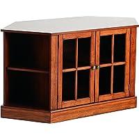 SEI Furniture Thomas Corner TV Storage Media Stand