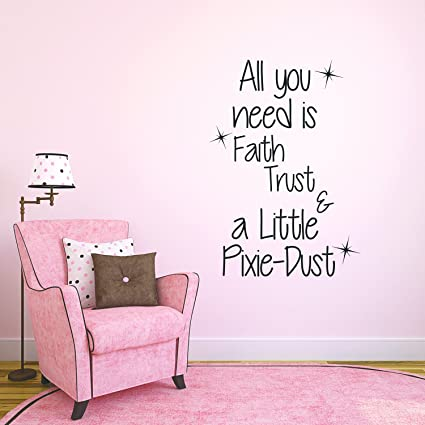 Amazon Com Inspirational Quotes Wall Decal For Girls Bedroom All