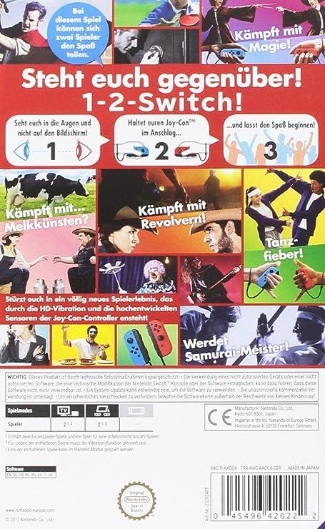 1-2-Switch [Importación Alemana]: Amazon.es: Videojuegos