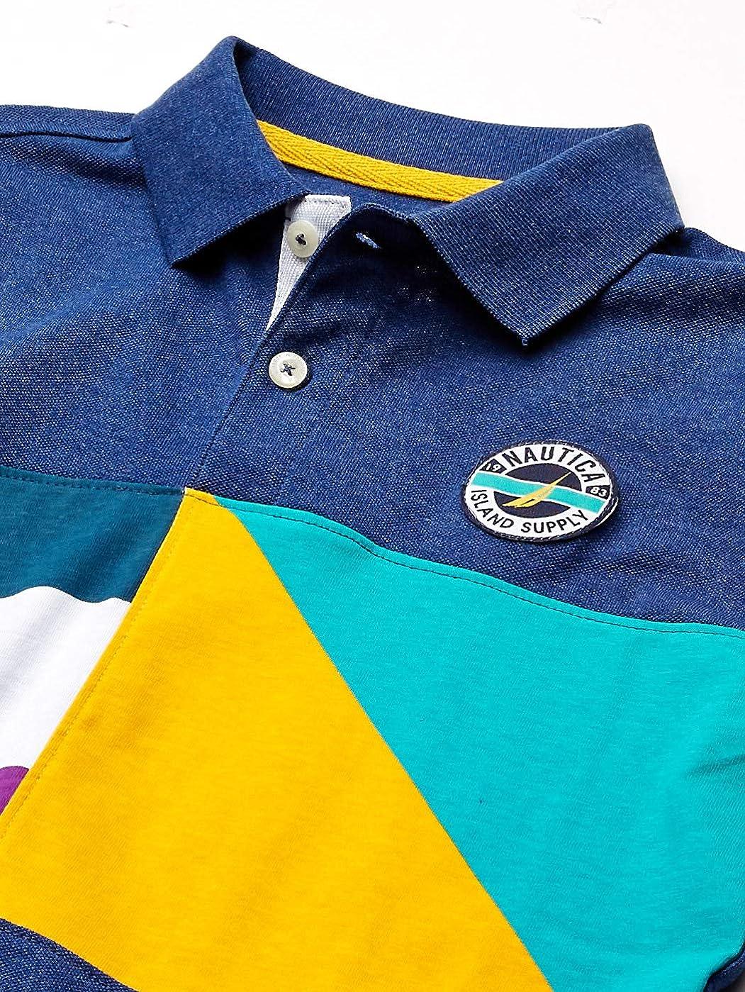 Nautica Boys Colorblock Polo