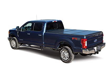 Leer Trilogy Hard Trifold Truck Bed Tonneau Cover 2014 2018 Chevy Gmc Silverado Sierra 5 8 Bed With Track Amazon In Car Motorbike