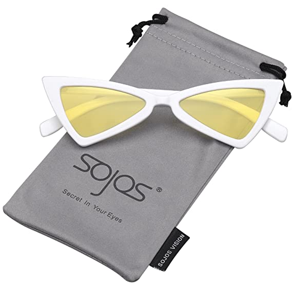 SOJOS Gafas de Sol Para Hombre Moda Rectangulares Marca Metal SJ1077 RfWPW4