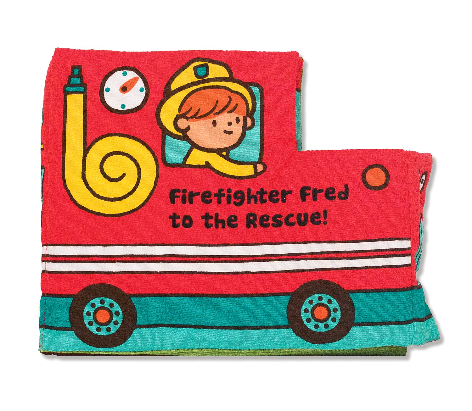 Melissa & Doug Soft Activity Book - Firefighter Fred To The Rescue 12