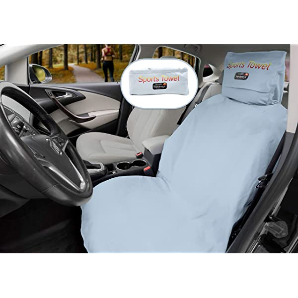 Blue Fitness Trucks AUTOYOUTH 2PCS Towel Seat Cover Car Seat Mat for Yoga Beach Universal Fit for Most Cars 2PCS SUV Sweat Absorption and Flash Drying in Summer Sports