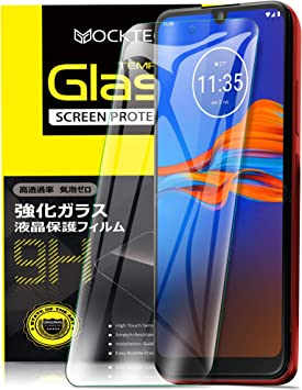 Yocktec Cristal Templado para Motorola Moto E6 Plus, Protector de ...