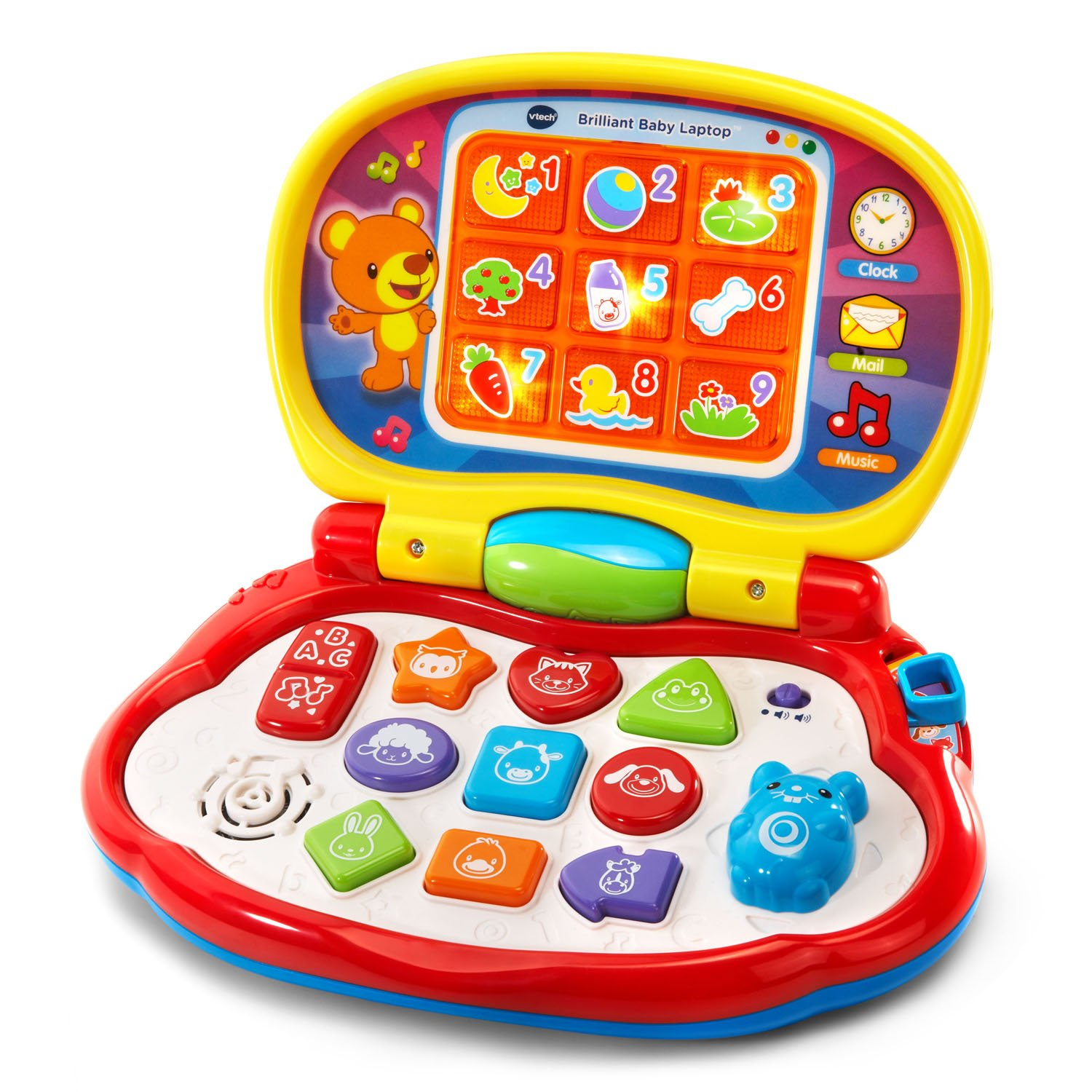 VTech Brilliant Baby Laptop,red by VTech (Image #1)