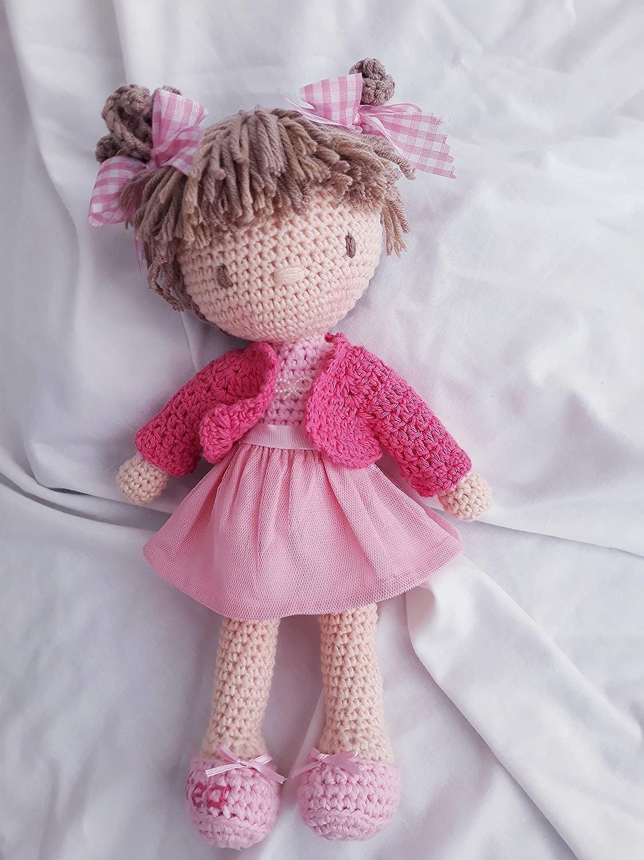 ANDREA Muñeca crochet PERSONALIZADA Mariquilla.: Amazon.es: Handmade