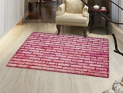 Amazon.com: Coral Felpudo alfombra pequeña de edad pared de ...