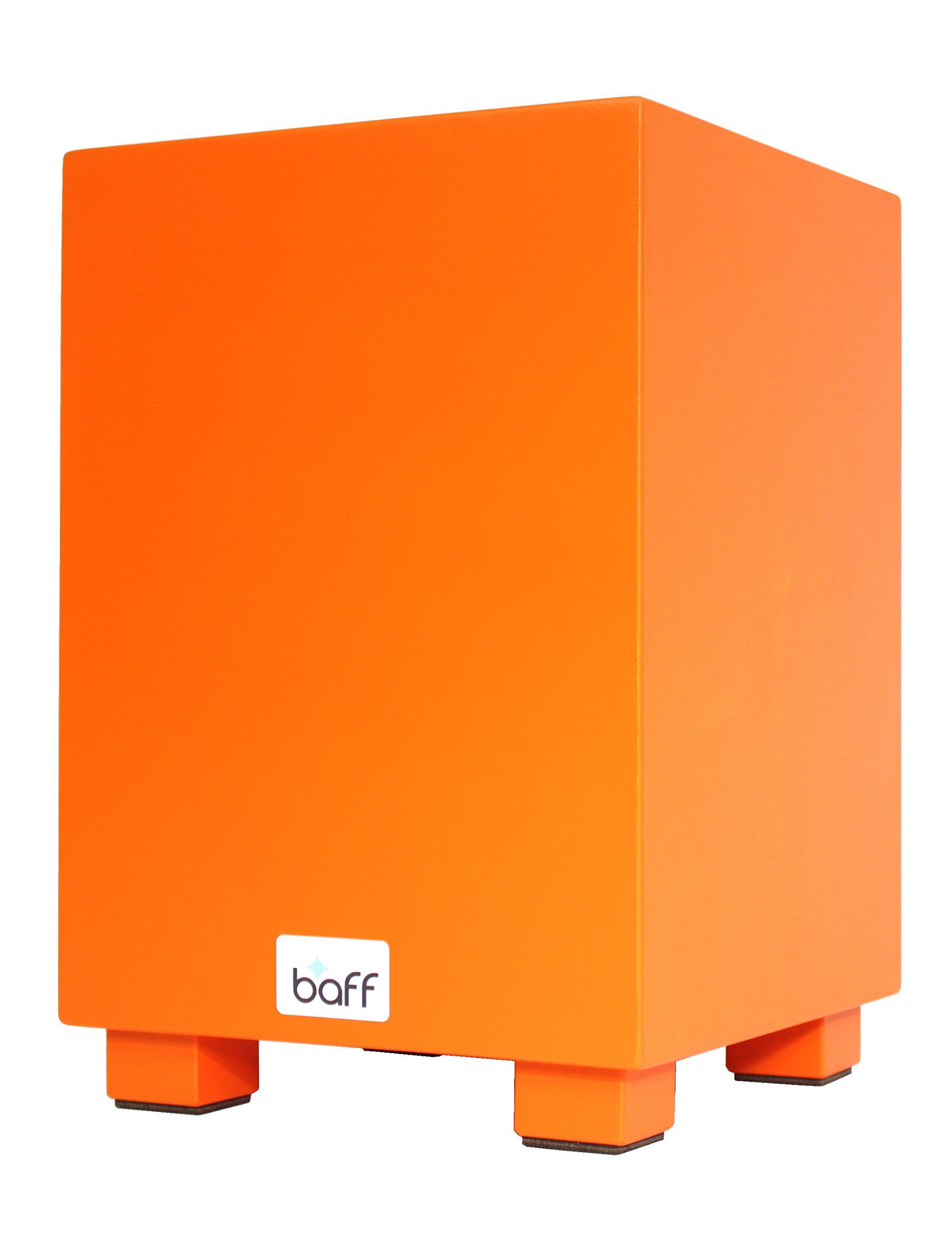 Baff Music Furniture Cajon Child's Drum Stool with Seat Height 38 cm orange
