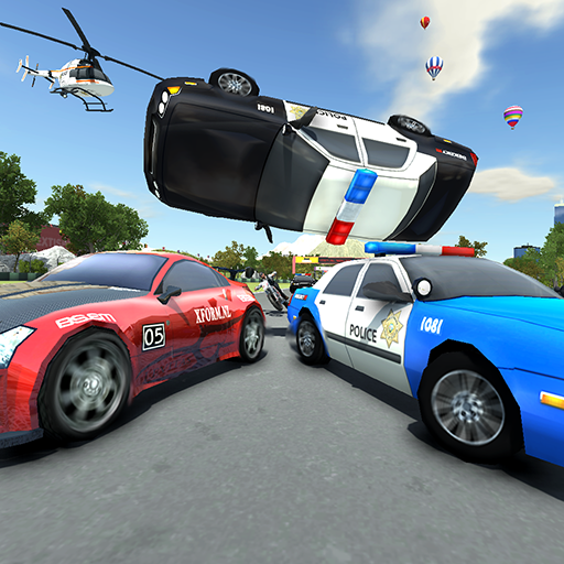 Police Car Drift Race -