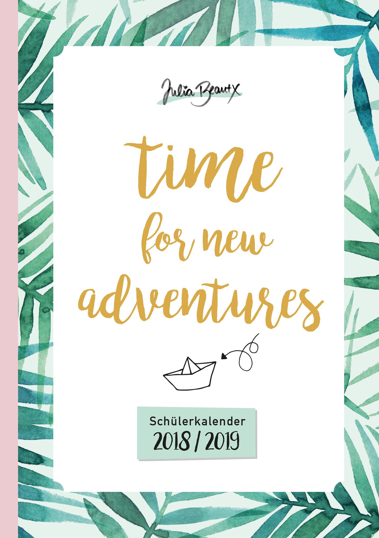 Schulplaner 2018//19 Planer Kalender Schülerkalender Hausaufgabenheft Heft pink