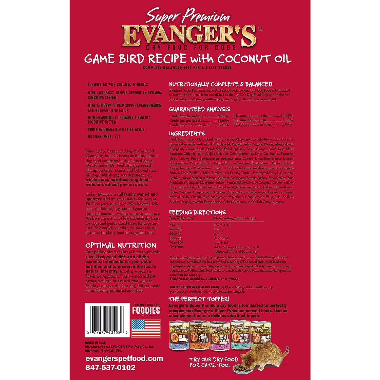 Amazon.com: Evangers Juego de recetas de pájaros con aceite ...