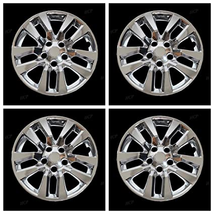 Amazon.com: MARROW New Wheel Covers Hubcaps Fits 2013-2018 Nissan Altima, 16 Inch; 10 Spoke; Chrome Plated; Plastic; Set of 4; Bolt On: Automotive