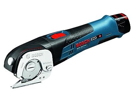 Bosch GUS 12-300 Professional - Cizalla a batería, 2 baterías de 12 V