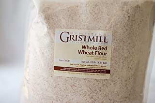 product image for Homestead Gristmill — Non-GMO, Chemical-Free, All-Natural, Stone-ground Whole Red Wheat Flour (10 lb), Artisanally Milled from Hard Red Wheat Berries