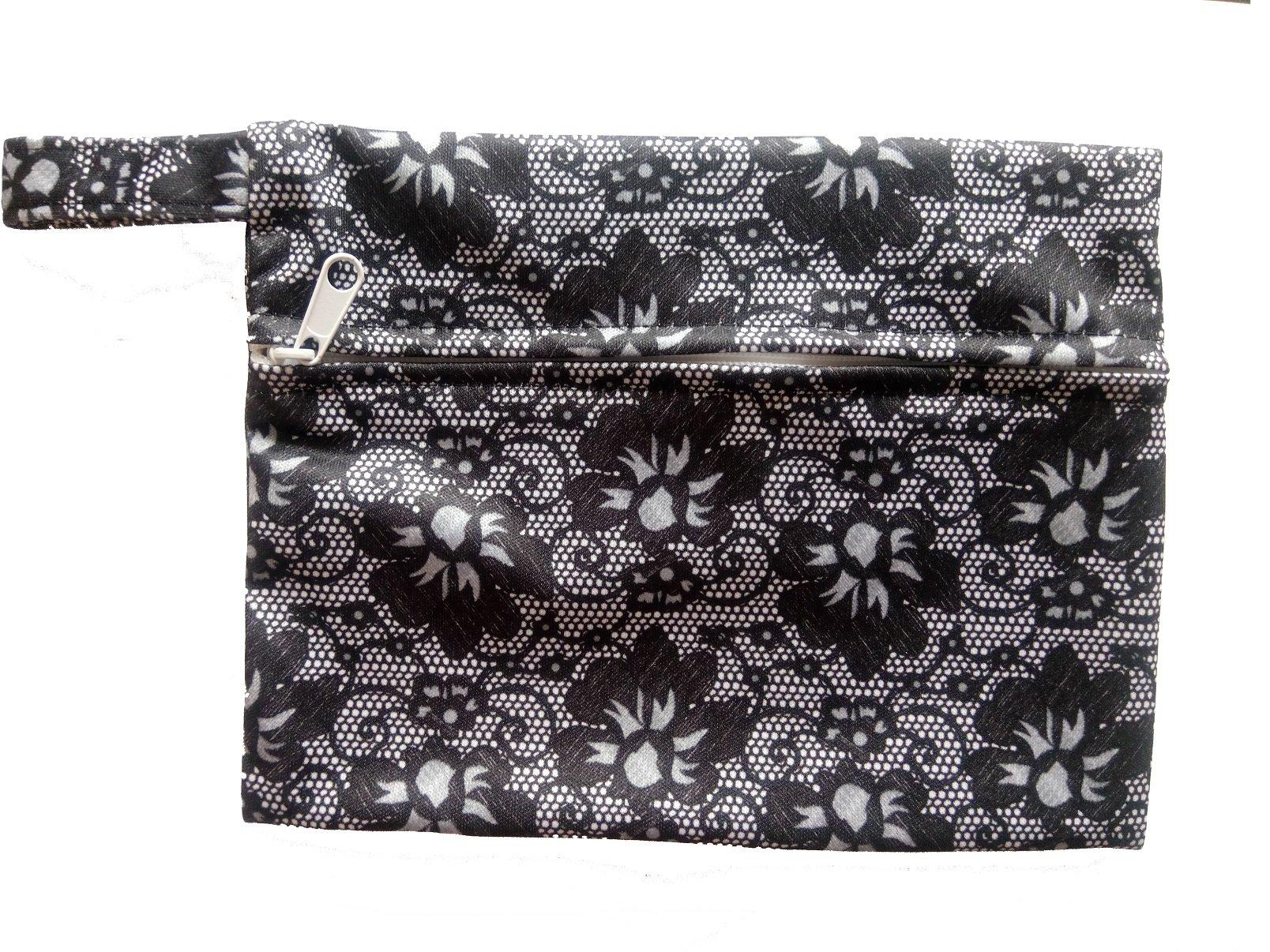Mini Wet Bags for Breast pads sanitary napkin Maternity Mama Pads (2 PCS, WSDD10)