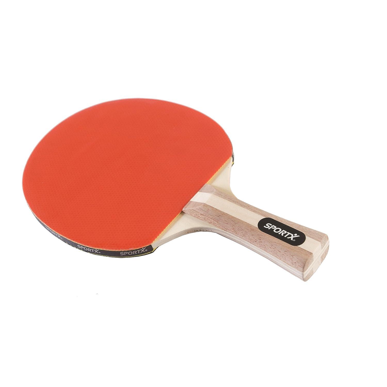 Rot AK Sport SportX Tischtennis-Schl/äger