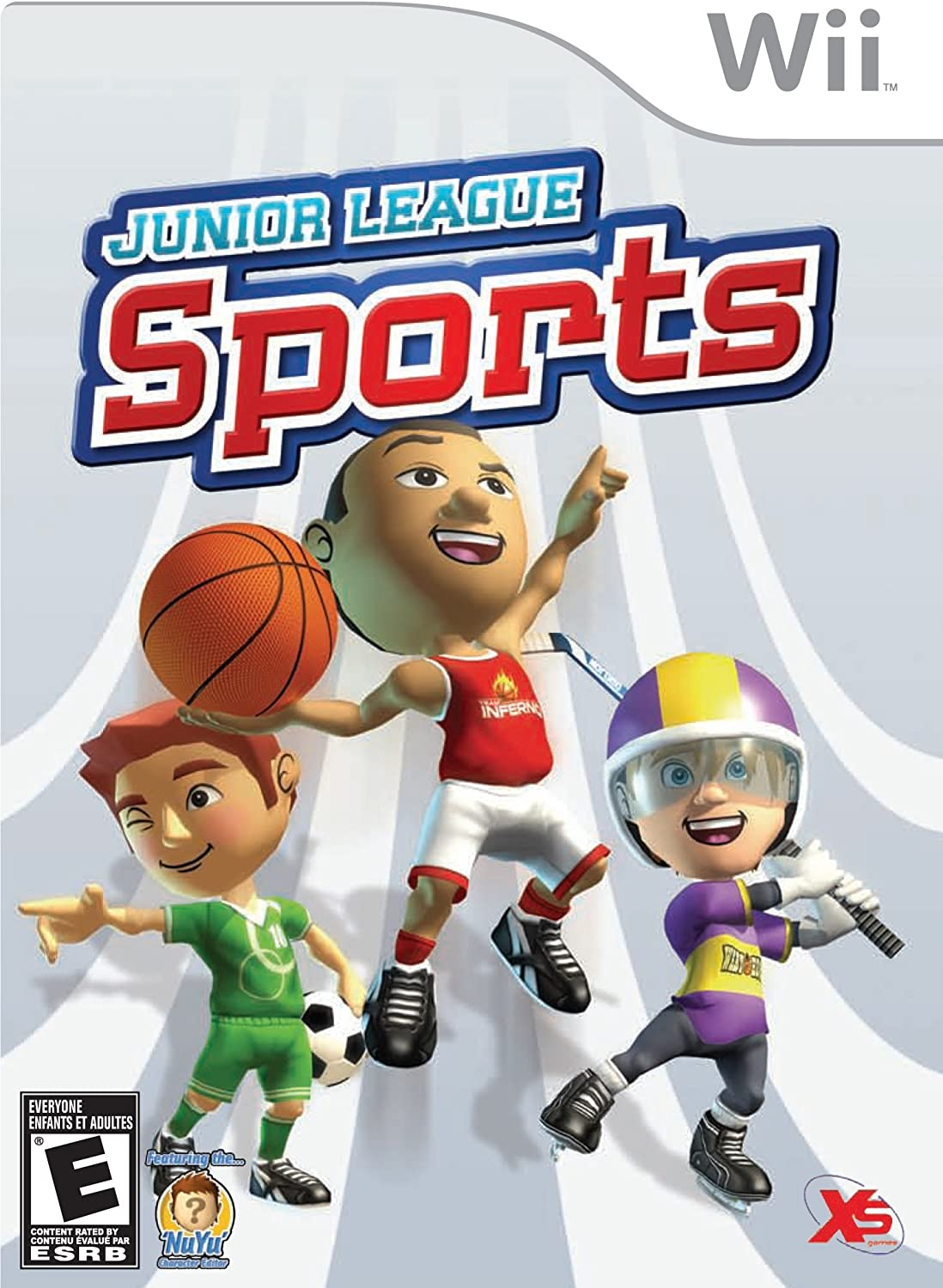 amazon com junior league sports nintendo wii video games