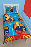 Character world Fireman Sam Brave Single Rotary Duvet Set
