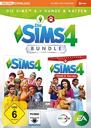 Die Sims 4 + Hunde & Katzen Bundle (Code only) [Importación alemana]: Amazon.es: Videojuegos