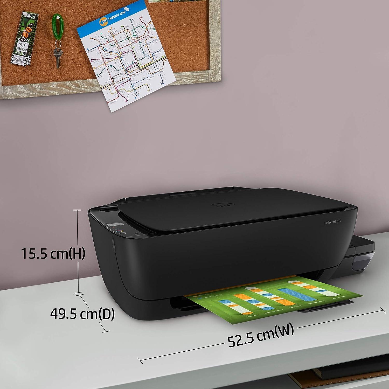 Amazon Com Impresora Multifuncional Hp Ink Tank 315 Z4b04a Electronics