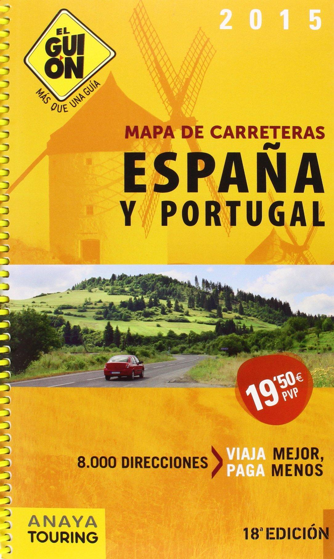 El Guion 2015 Spain And Porugal Roadmap Guide Mapa De