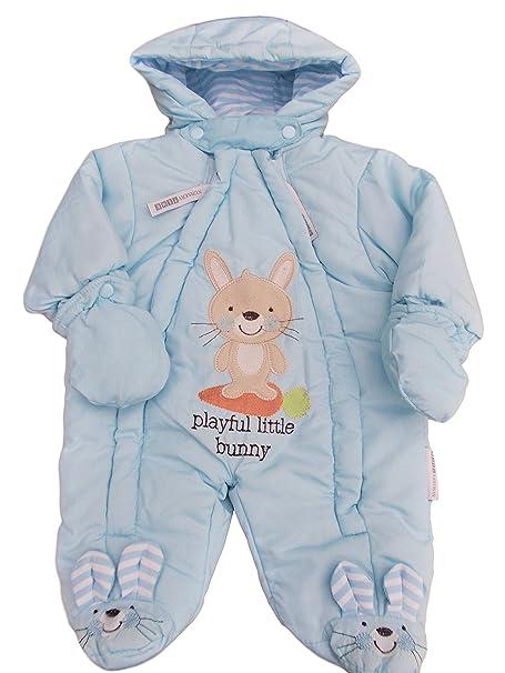 92ff3d2b0 Nursery Time - Traje de Nieve - para bebé niña  Amazon.es  Ropa y ...