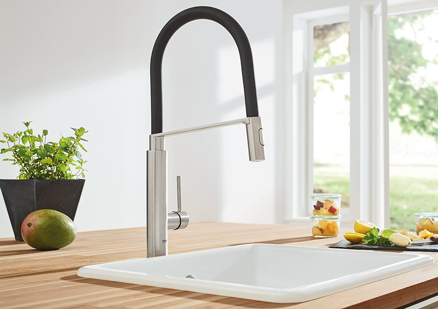 Grohe Concetto Kitchen Faucet  Concetto Kitchen Sink Mixer - Amazon grohe kitchen faucets