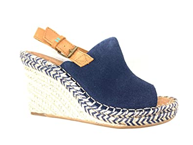 a47c5b2bb1626 Amazon.com: TOMS Women's Monica Wedge Sandal: Shoes