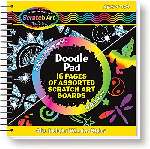 Scratch Art Doodle Pad Book