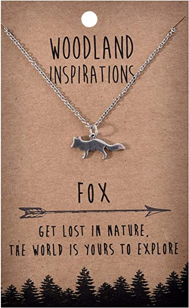 Shag Wear Women's God Bless America Woodland Nature Inspirational Real Pewter Necklace