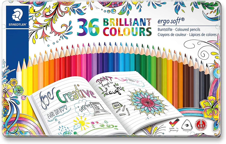 Johanna Basford STAEDTLER couleur coloriage bonne crayons adulte livres pack de 24