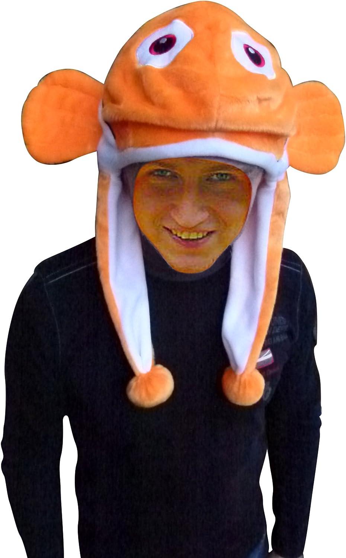 Gorro como disfraz de pez, F118,sombrero para hombres y mujeres ...