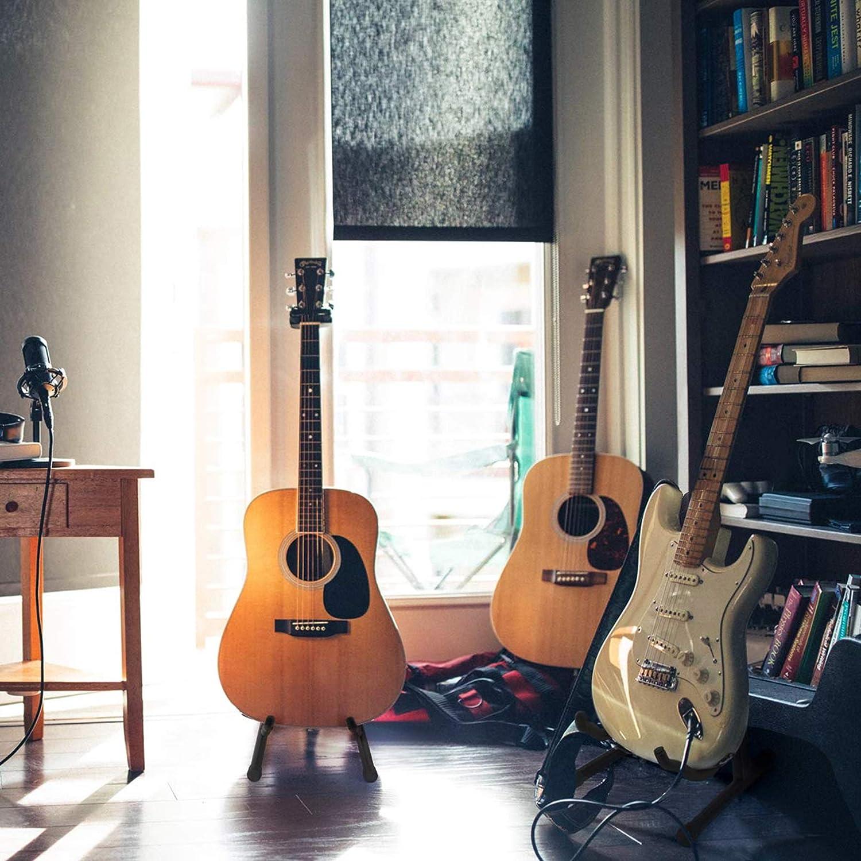 Soporte Guitarra Suelo A Frame Pie Guitarra Electrica Bass Stand ...