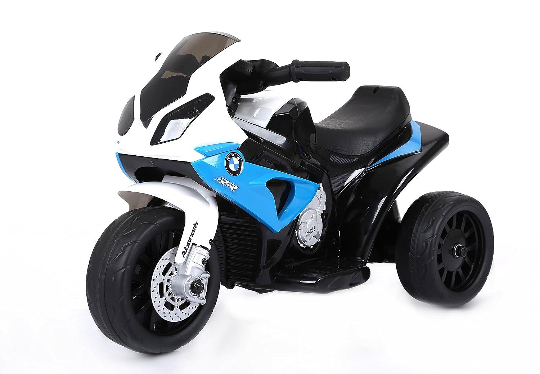Web oficial RIRICAR BMW S 1000 RR Triciclo eléctrico, eléctrico, eléctrico, Motocicleta con batería, 3 Ruedas, con Licencia, 1x Motor, batería de 6V, Azul  tienda en linea
