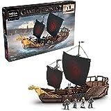 Mega Construx Game of Thrones Targaryen Warship Building Set, Multi (GPB29)