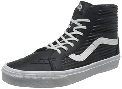 97f7ca77c9 Amazon.com  Vans Sk8-Hi Reissue Canvas Black 4  Sports   Outdoors
