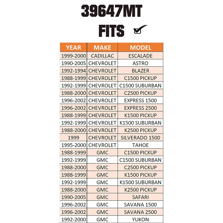 ESCALADE /& ASTRO /& BLAZER /& C1500 /& EXPRESS 1500 /& SILVERADO 1500 /& TAHOE /& SAFARI /& SAVANA /& YUKON For METRIX PREMIUM 39647MT Front Upper Ball Joint K6292 Made in TURKEY
