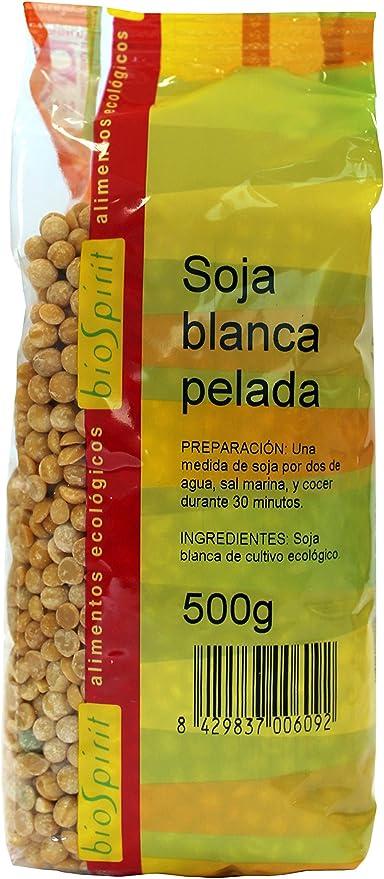 Biospirit Soja Blanca Pelada de Cultivo Ecológico - 500 gr ...