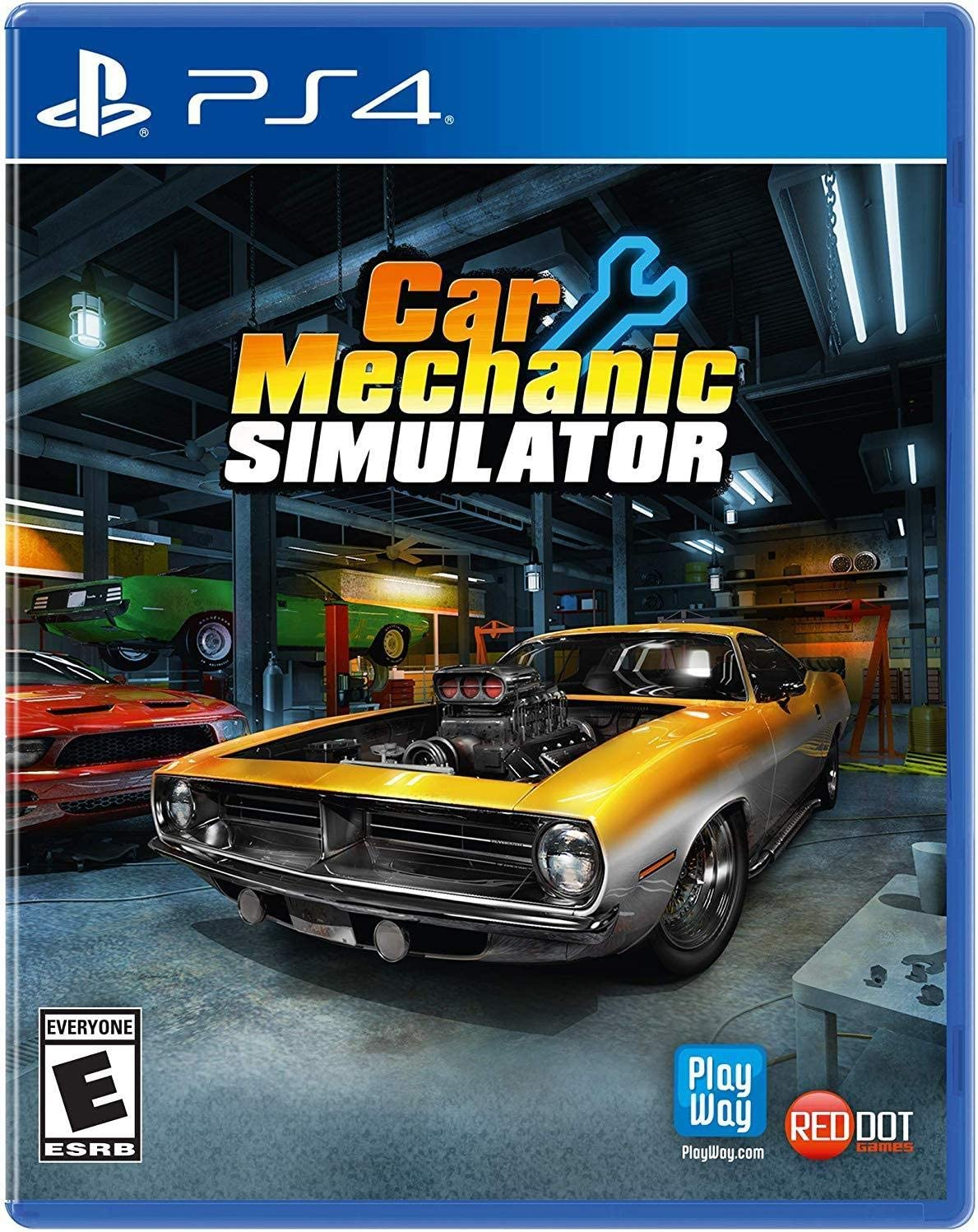 Amazon com: Car Mechanic Simulator (PS4) - PlayStation 4