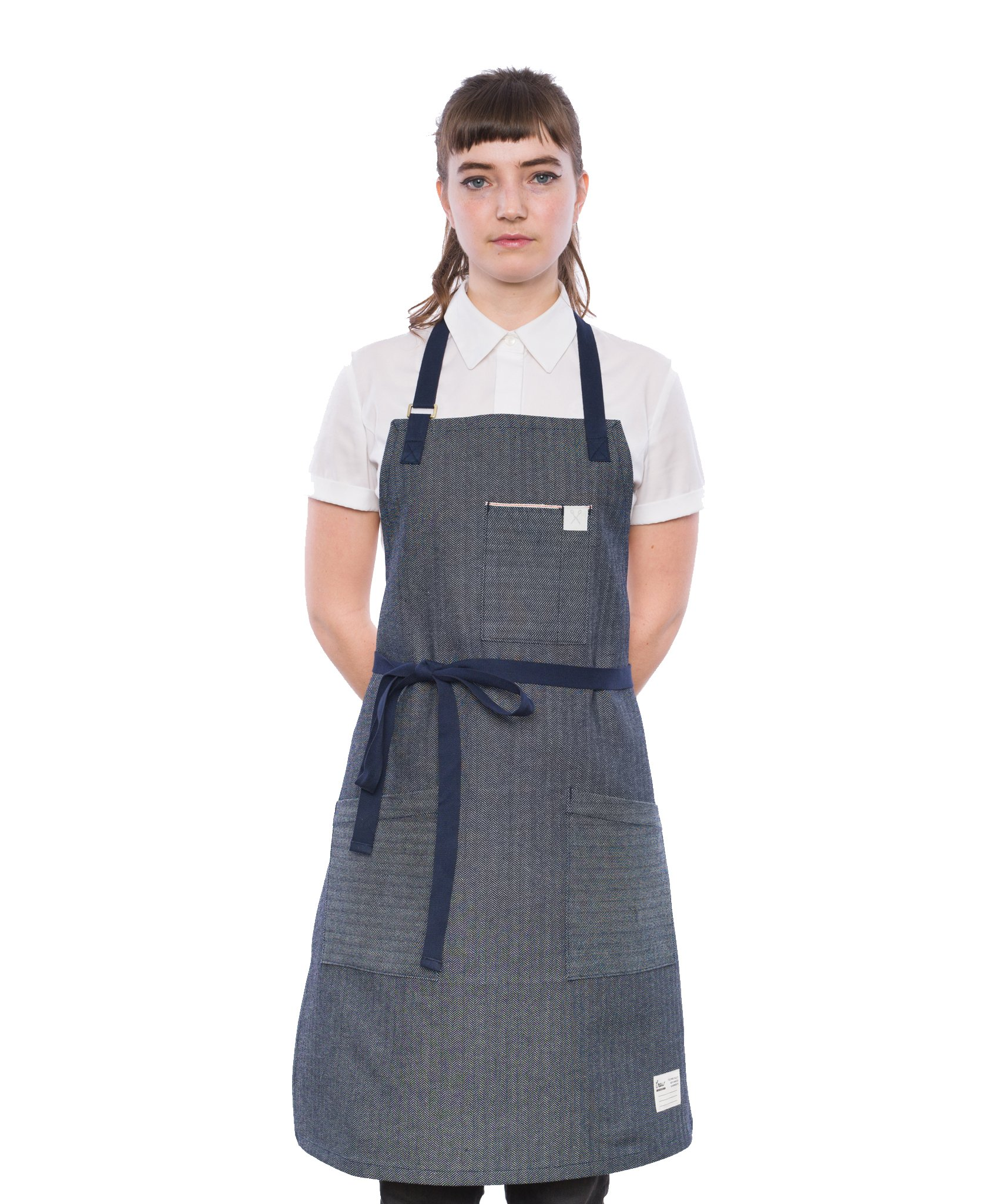 Crew Apparel The Herring Selvedge Denim Standard Apron Made in USA