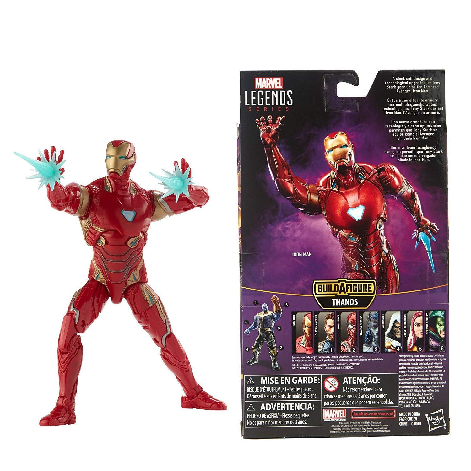 Amazon.com: Diamond Distributors Marvel Legends Series Avengers: Infinity War Iron Man Action Figure: Toys & Games