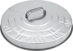 Behrens GCRP4 Replacement Lid for 31-Gallon Steel Trash Can , Silver