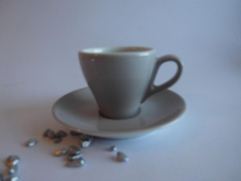 NEU Dibbern Solid Color Petrol Espresso Classico 0,09 l mit Untere