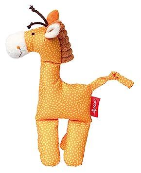 Sigikid Giraffe Jirafa Poliéster Naranja - Juguetes de Peluche (Jirafa, Naranja, Poliéster,